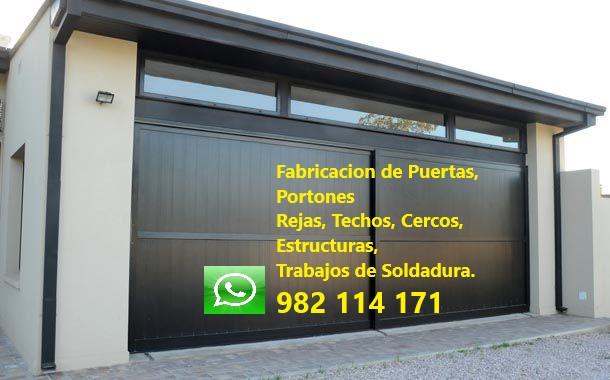 Puerta Portón Mantenimiento, Reparación en Miraflores, San Isidro