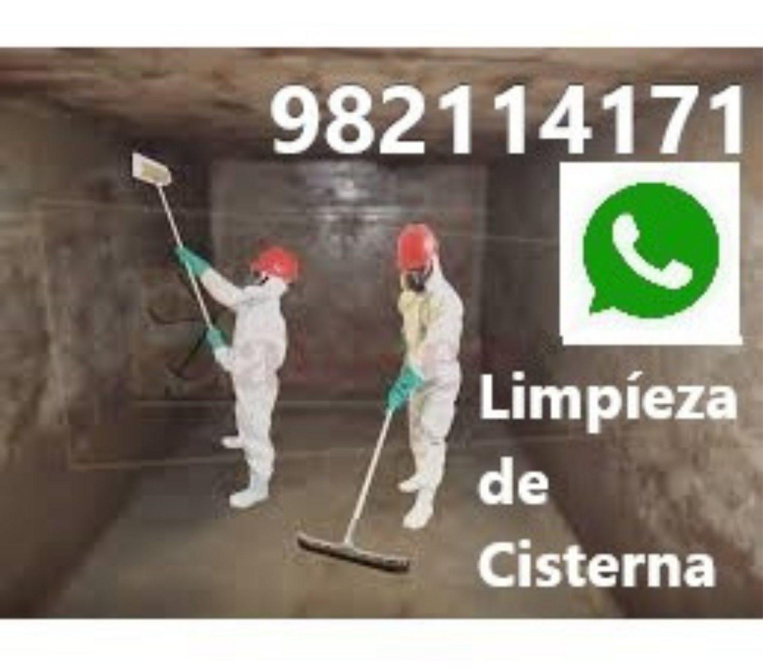 Limpieza, Mantenimiento Cisterna Miraflores
